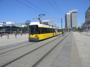 and this is a Berlin tram