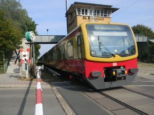 The S-Bahn (City Railway) took us to Borgsdorf.