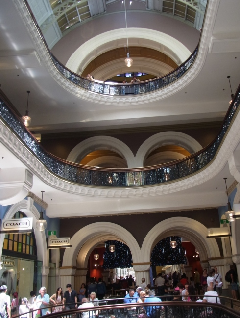 Inside Queen Victoria Building