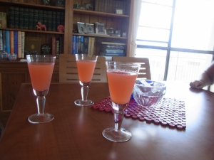 Our welcome drink - (non alcoholic)