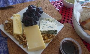 cheese from three different countries