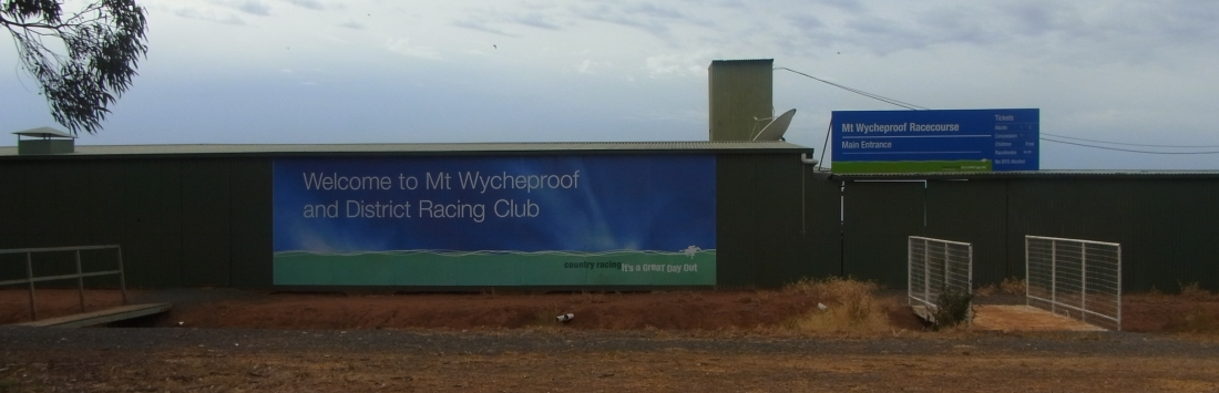 We pass Mt Wycheproof.