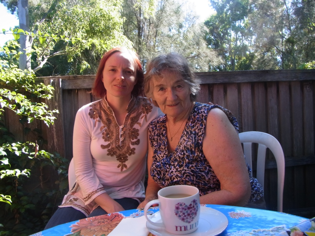 Caroline and Mama Uta