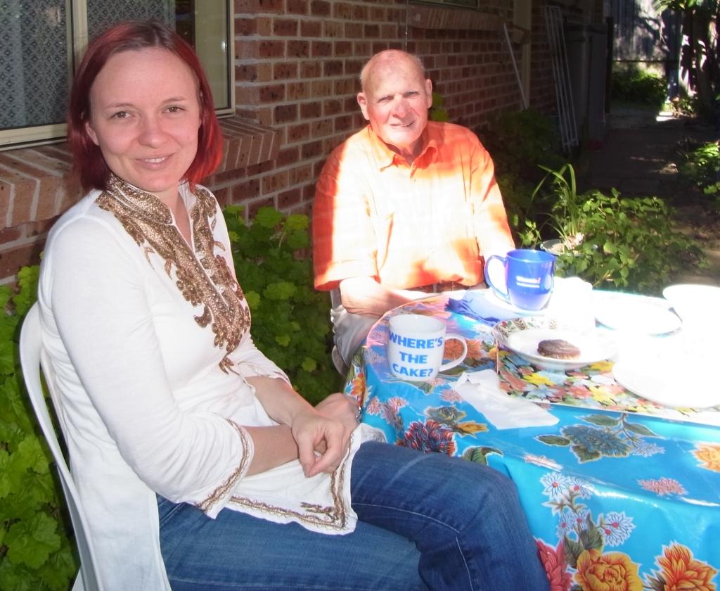 Caroline and Papa Peter