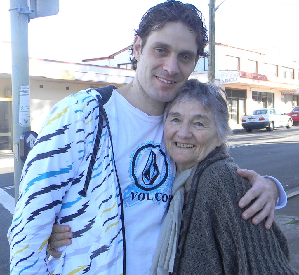 And this is Ryan with Grandma