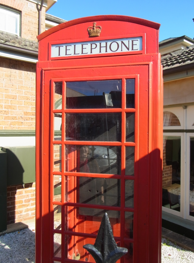 An old Telephone Booth