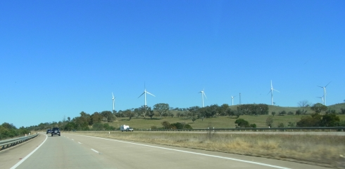 Along the Hume Highway we had seen a few windmills.