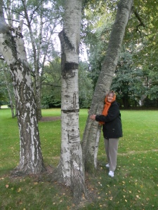 Just for good measure here is the other tree hugging picture again which was taken on my last birthday..