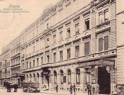 Leipziger Schauspielhaus Sophienbstrasse 17 - 19