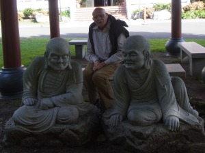 He found some companions.