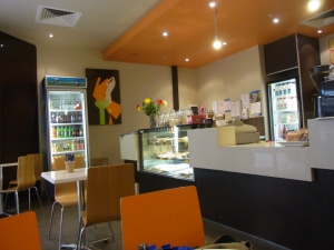 The GURU Coffee Lounge in Dapto Shopping Centre