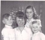 Mum with her three children: Uta, Bodo and Peter-Uwe.  1948 in Berlin