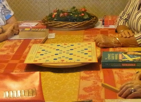 Ready to play Scrabble