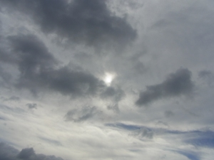 We were waiting for the sun to get a bit more through the clouds.