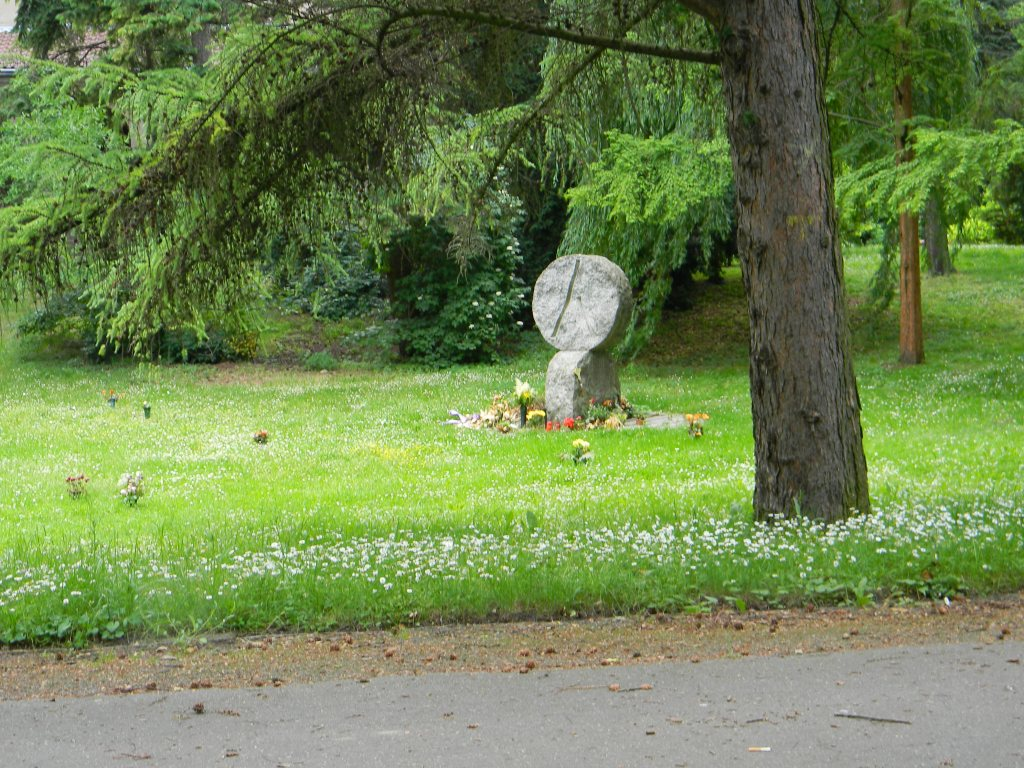 And here is the stone we saw in 2010.