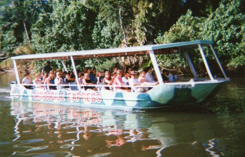We were on the Crocodile Express going in the other direction.