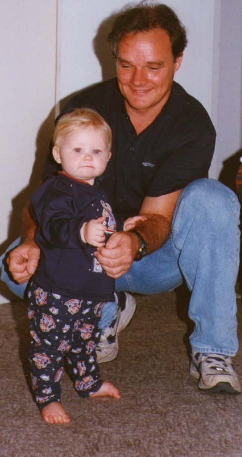 This is Martin with Lauren who was born on the 15th of June 1998.