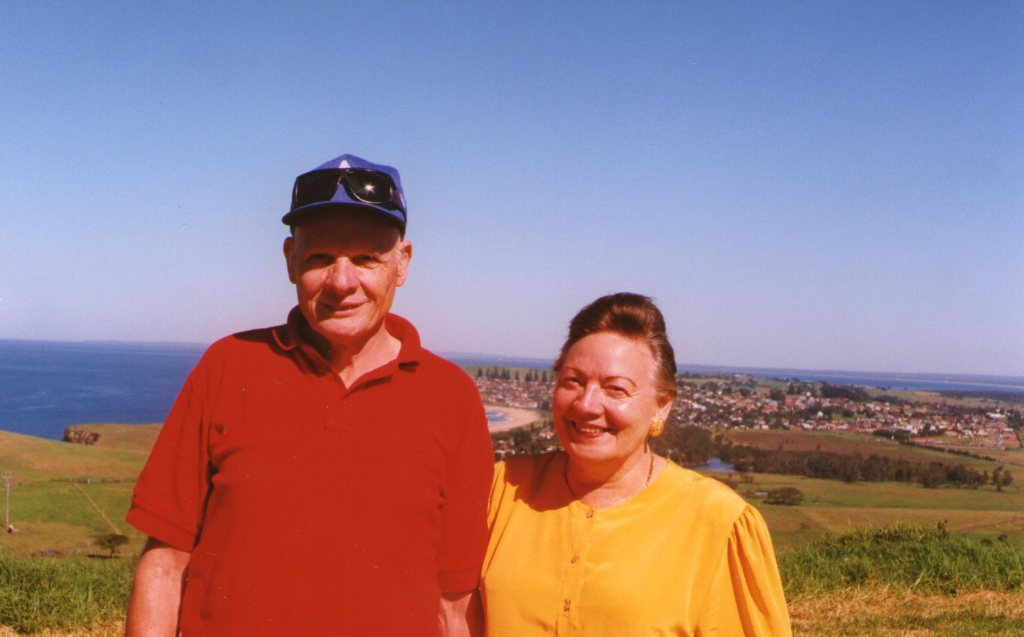 Here is Peter with his sister Ilse.