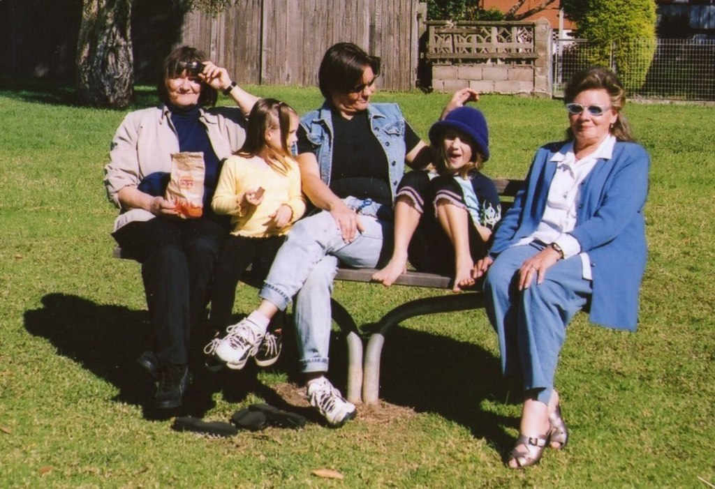 This is in Lakelands Park in 2OO1 when Ilse was with us again.