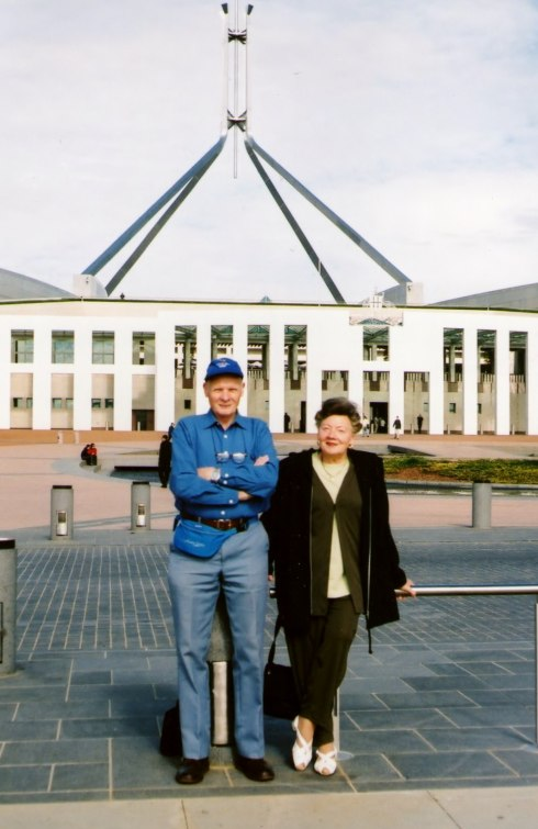 In Front of Parliament House, Canberra