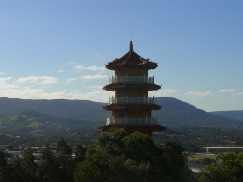The Pagoda of the Nan Tien Temple near Wollongong.