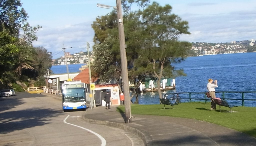 Here is another Ferry stop. But we decided to catch the bus