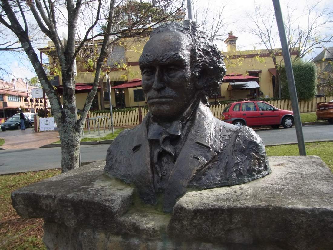 This is in commemoration of Alexander Berry who lived from 1781 - 1873.