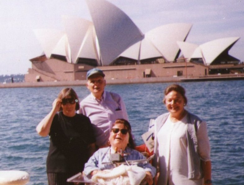 18th of April 1999 in front of Sydney Opera House