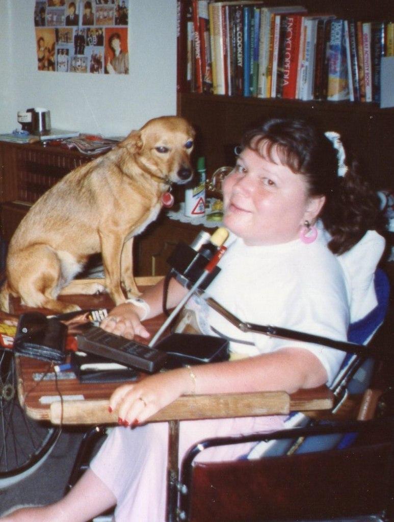 Gaby with Bonnie
