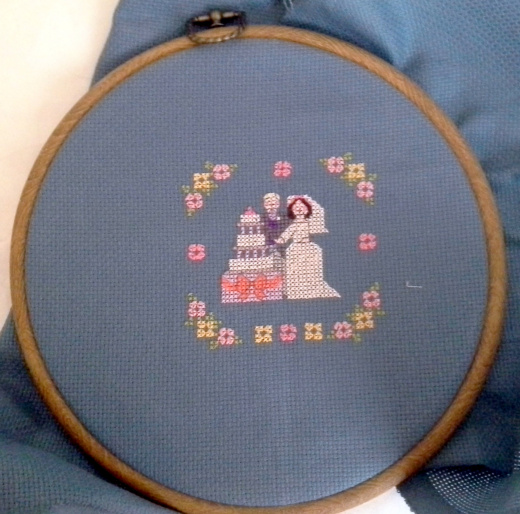 Cross-Stitched Wedding