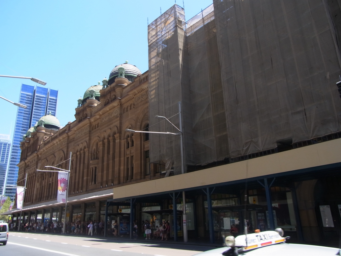 After lunch we strolled to the Queen Victoria Building.
