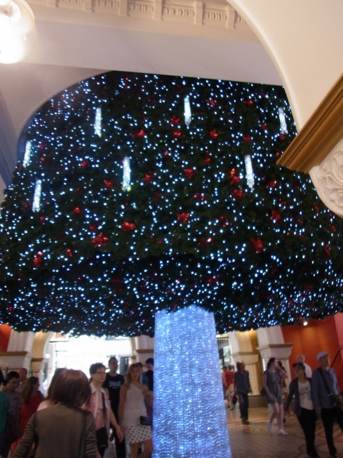We thought this Christmas Tree looked quite impressive.