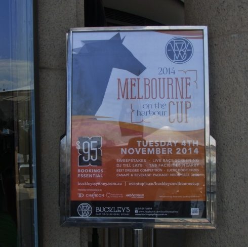 A Reminder that Melbourne Cup Day is coming up soon.