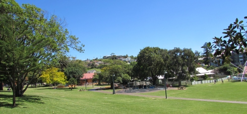 This is a park in Kiama.