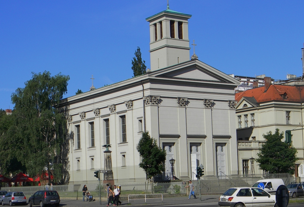 This is one of the churches that Schinkel built in the 19th century.
