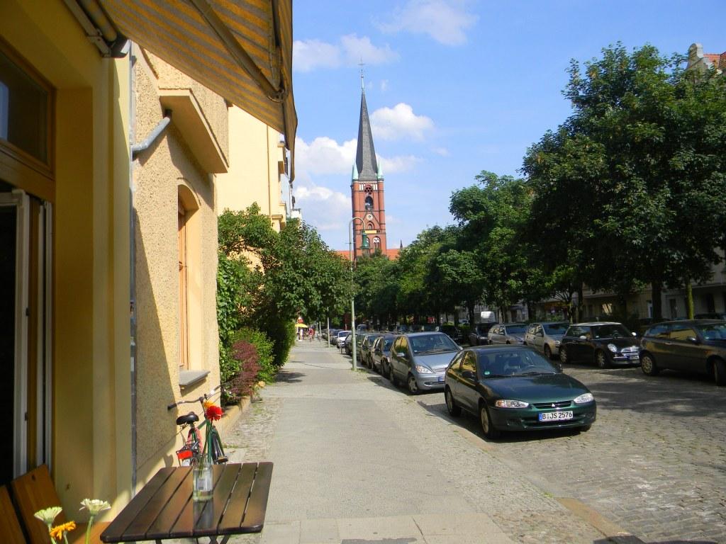 A street in Berlin-Friedrichshain