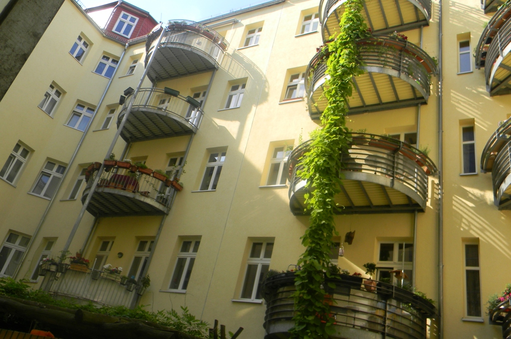 This is where my niece lives in Friedrichshain.
