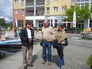 I took this picture of Peter with my brother Peter Uwe and partner Astrid.