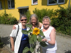 ' ' '  we met Ilse and her friend Erica in Berlin-Friedenau.