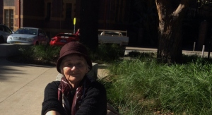 This picture was taken on Monday, 11th May 2015, near Sydney University when we went to a court hearing.
