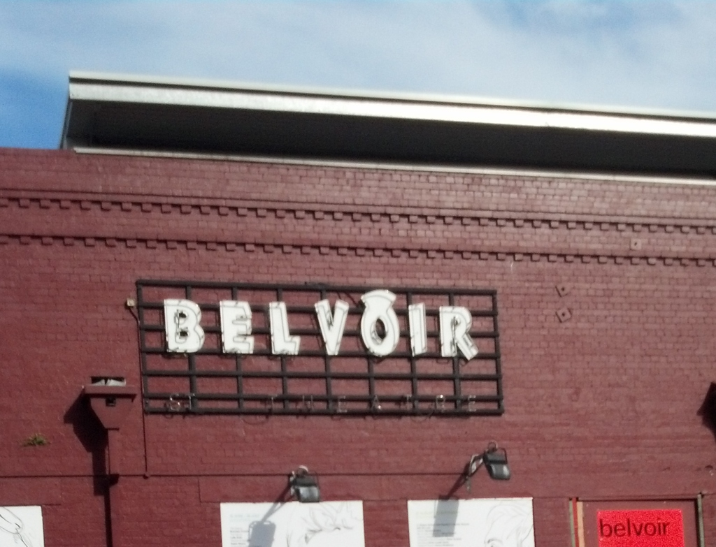 Yesterday, Saturday, we went to the BELVOIR  Theatre in Sydney.