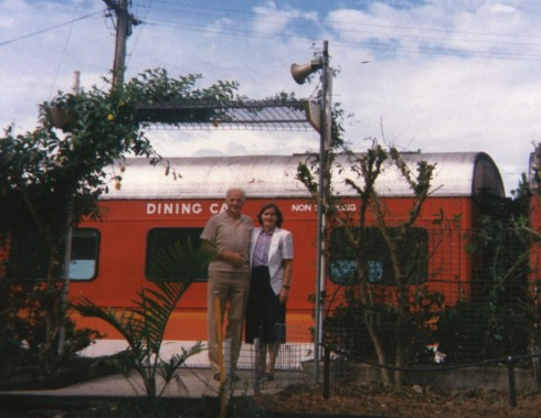 Caroline took this picture of us after we had arrived in Muwillumbah.
