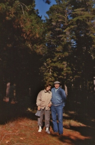 In the Pine Forest near Canberra,  June 1988