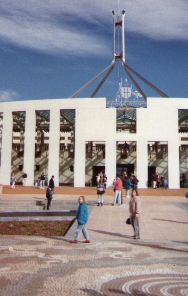 The New Parliament House, June 1988