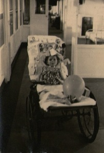 28th August 1962, Gaby is five years old