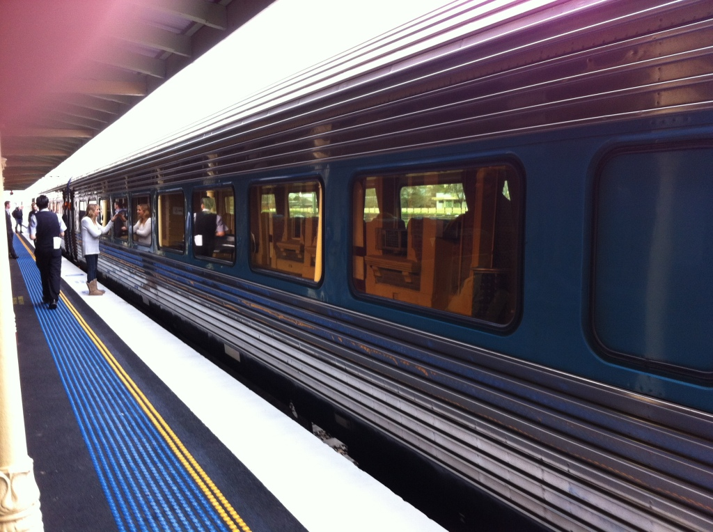 Our XPT to Melbourne Aug/ 2015