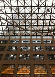 This is part of the roof above the big hall where we sat and relaxed having our coffee.