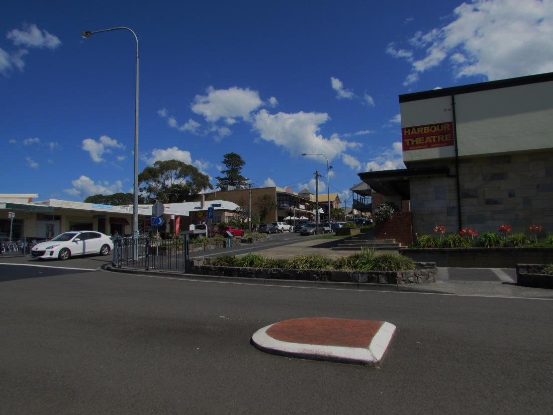 This is a street in Shellharbour Village.