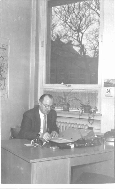 My Father in his Office ca. 1955
