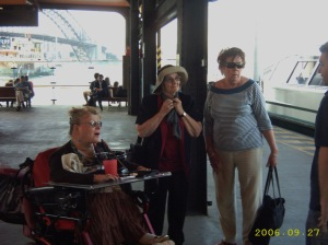 We have arrived at Circular Quay/